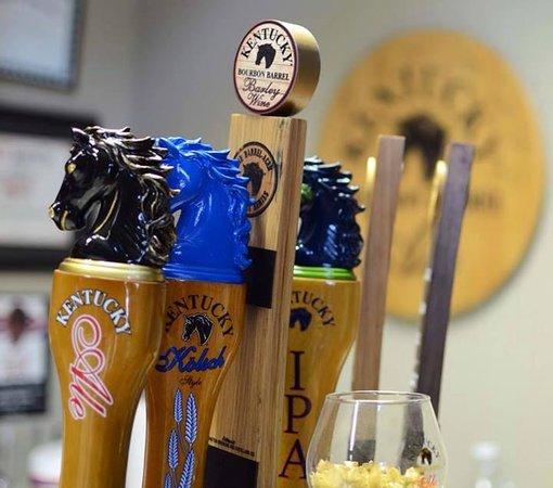Alltech's Lexington Brewing & Distilling Co.: Taps