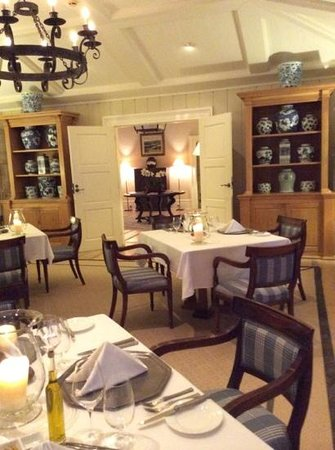 The Lodge at Kauri Cliffs : Dining Room