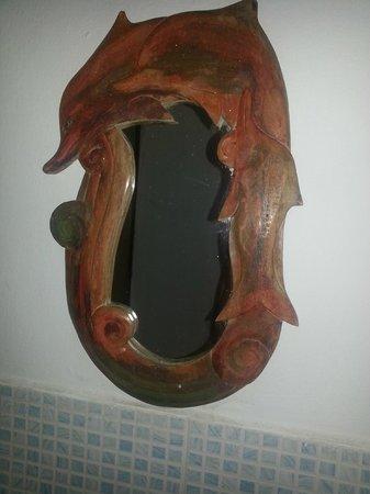 Golfinho Tropical: Espelho style do quarto