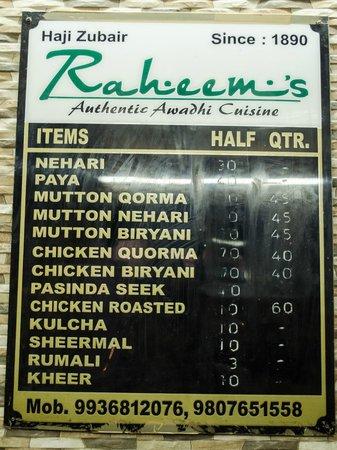 Rahim ki Nihari : An establishment 125 yrs old