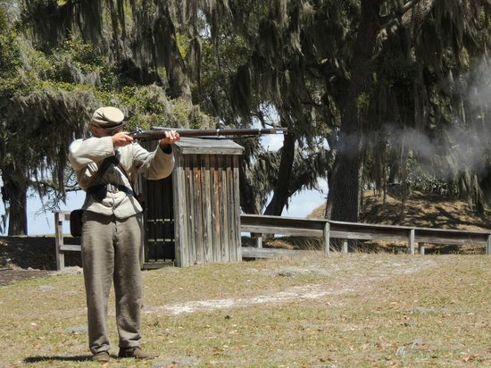 Fort McAllister State Park: Civil War Buff