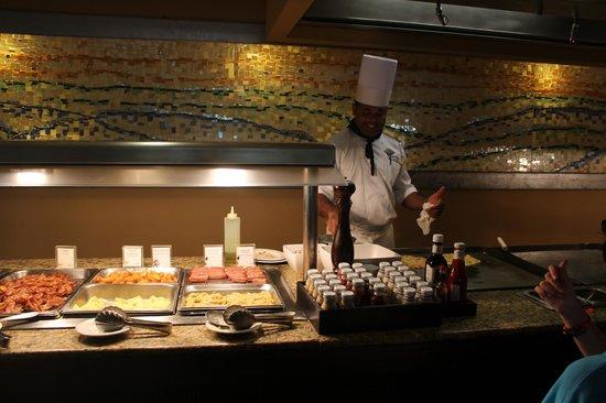 Paradisus Punta Cana: Morning omelets
