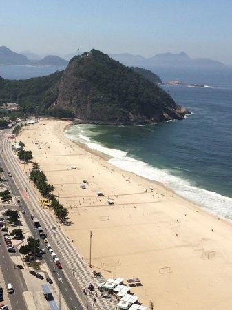Hilton Rio de Janeiro Copacabana : Front Ocean View