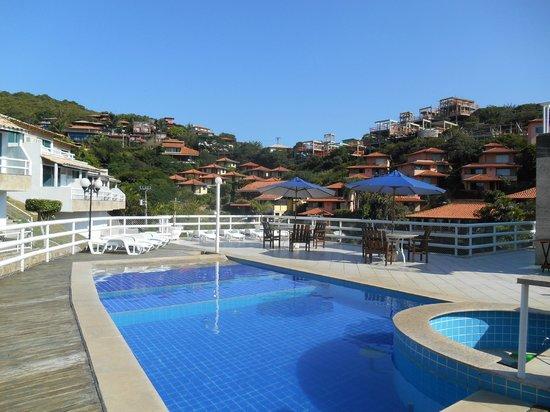 Hotel Pousada Experience Joao Fernandes: Pileta y vista