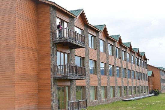 Hotel Rio Serrano: View of rooms facing the Horns (Cuernos)