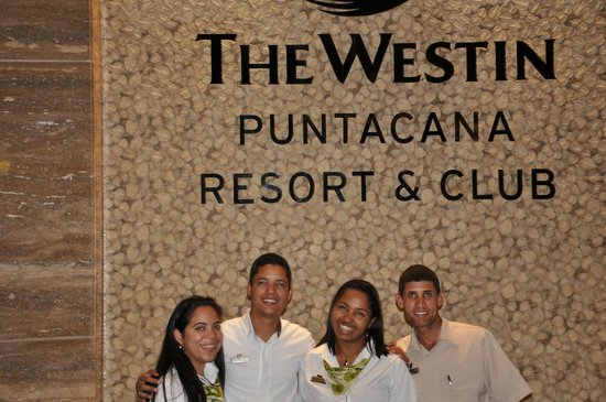 The Westin Puntacana Resort & Club : The Team!