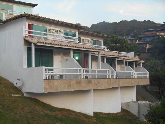 Hotel Pousada Experience Joao Fernandes : Habitaciones desde afuera