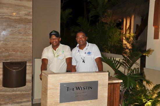 The Westin Puntacana Resort & Club : Wellington- Security & Henry Grayline
