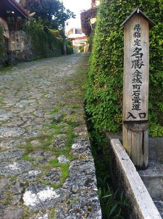 Shrikinjocho Stone-Path Road: かなりキツイのでゆっくりと。