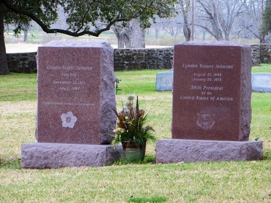 Lyndon B. Johnson State Park & Historic Site: Tombstones