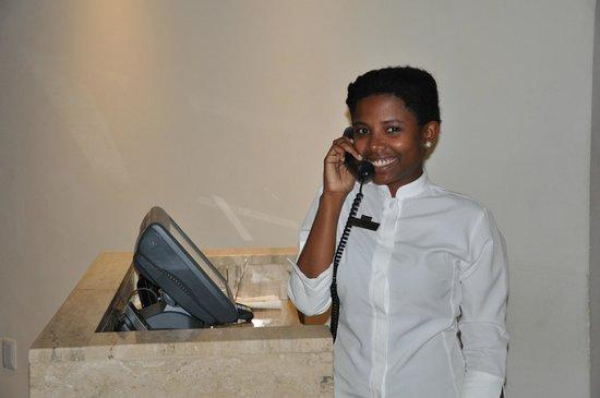 The Westin Puntacana Resort & Club : Carla always working with a smile!
