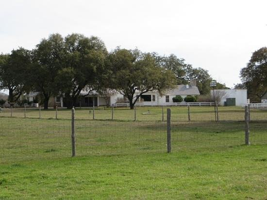 Lyndon B. Johnson State Park & Historic Site: Ranch house