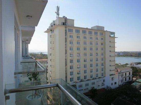 Moonlight Hotel Hue: Balcony