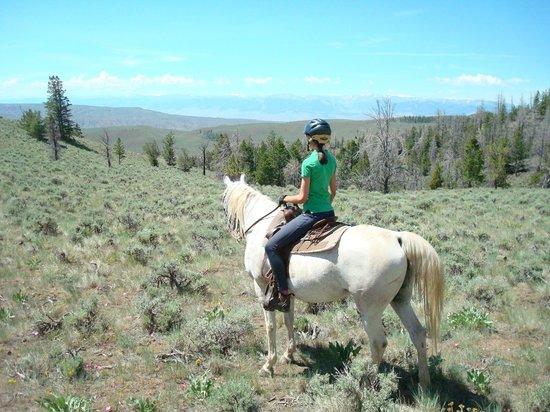 Bitterroot Ranch: Beautiful rides