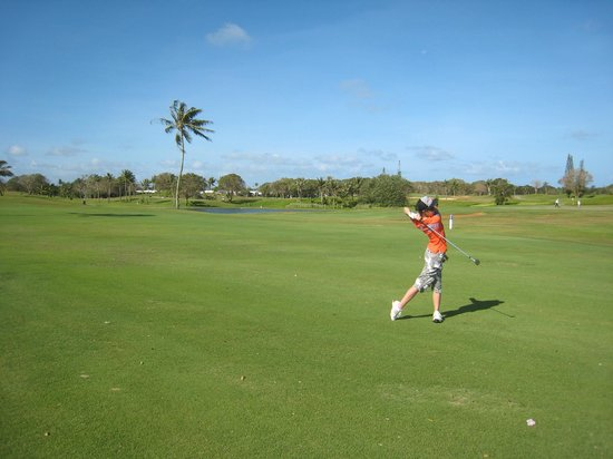 Starts Guam Golf Resort: ナイスショット!
