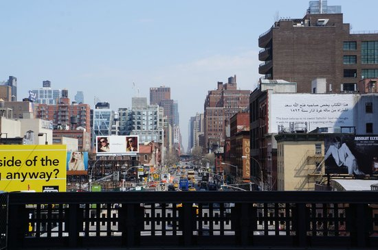 Uncle Sam's New York Walking Tours: One of NYC's Avenues from the High Line