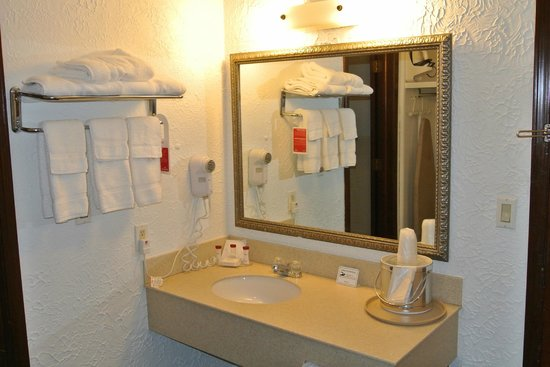 Ramada Mountain Home : Bathroom Amenities