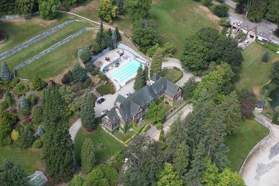 The Blaylock Mansion: Arial View