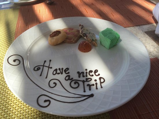 Grand Solmar Land's End Resort & Spa: Nice surprise from the staff at La Roca