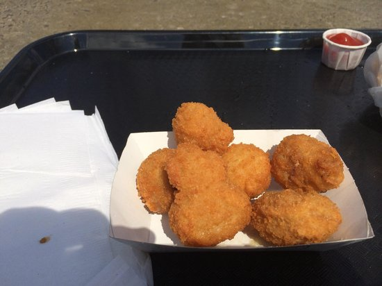 Polly's Freeze: Fried mushrooms