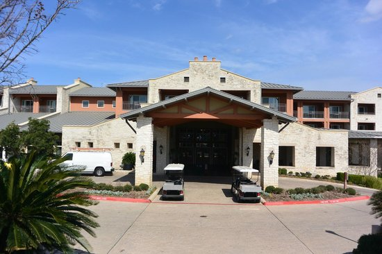 Lakeway Resort and Spa : Hotel entrance