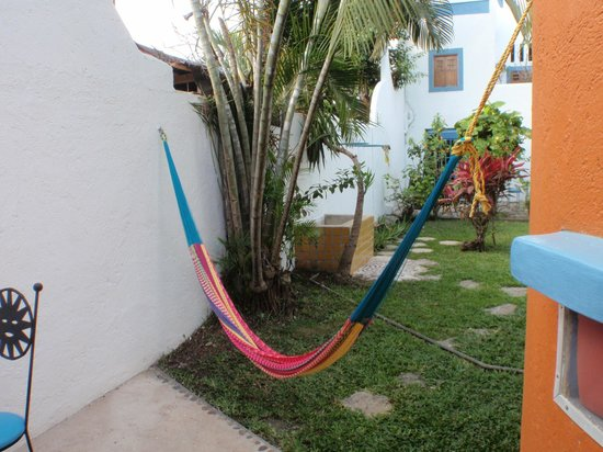 Tamarindo Bed and Breakfast : Our outside area.