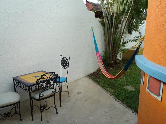 Tamarindo Bed and Breakfast : Our outside area