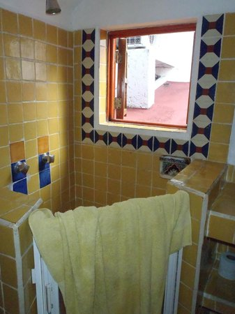 Tamarindo Bed and Breakfast : Our bathroom