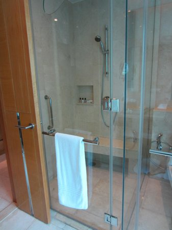 Renaissance Bangkok Ratchaprasong Hotel: Large shower