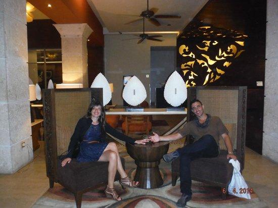 Barcelo Bavaro Beach - Adults Only : en el lobby del palace de luxe