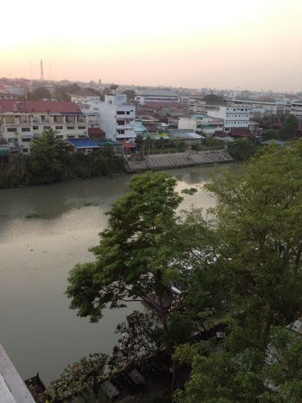 Krungsri River Hotel : View from our room