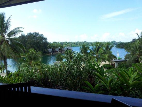 Holiday Inn Resort Vanuatu: view from breakfast area
