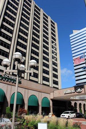 Hilton Garden Inn Indianapolis Downtown: Hotel