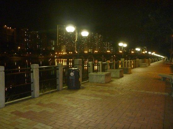 Regal Riverside Hotel : 近くの橋