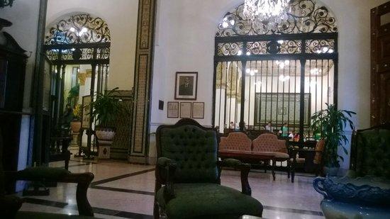 Hotel Inglaterra: Vista desde la recepcion
