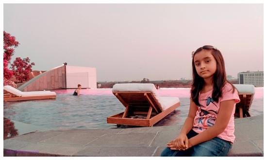 Park Hyatt Chennai: swimming pool view