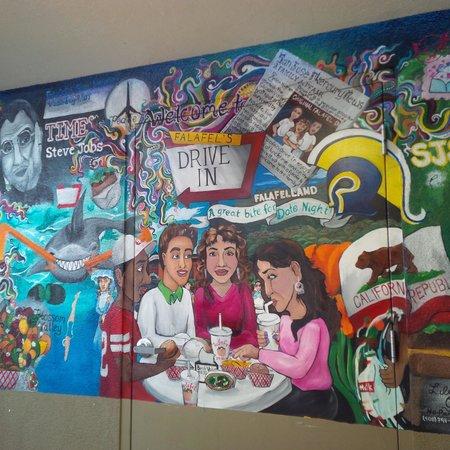 Falafel Drive-In: Murals