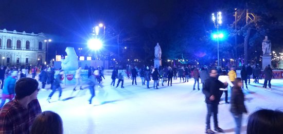 Ice rink at Rathausplatz