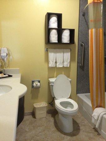 La Quinta Inn & Suites Inglewood: Small Bathroom
