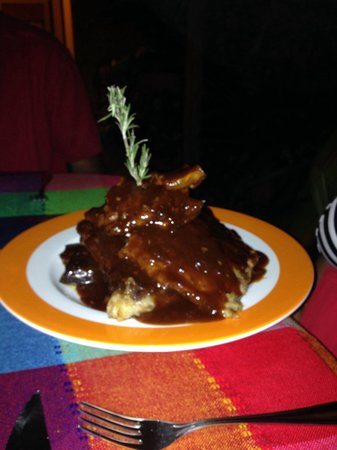 Anejo Limon: BBQ ribs