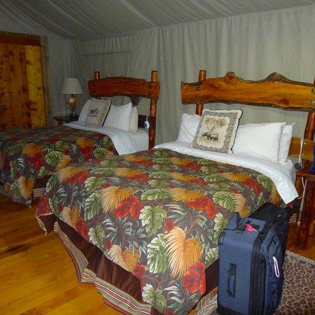 Safari West: Beds