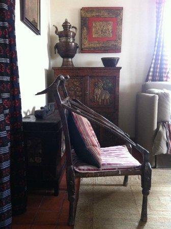Chandra Ban Retreat: Interior