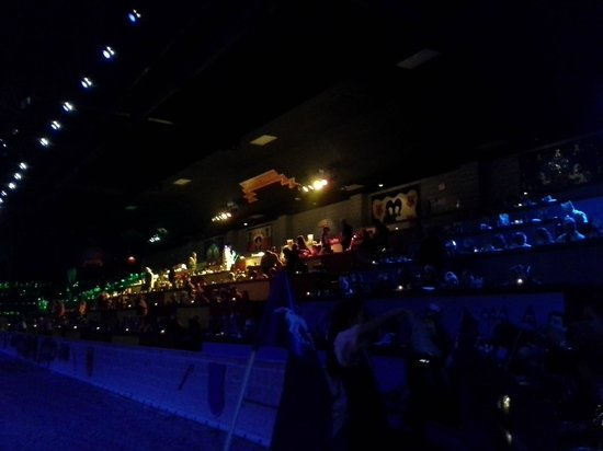 Medieval Times: Green, Red & Yellow, and Blue Section