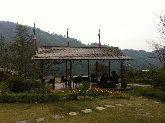 Chandra Ban Retreat: Outdoor Sitting Arrangment