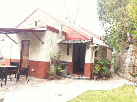 Chandra Ban Eco-Resort: Upper Building