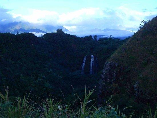 Opaekaa Falls and Mountains - Gorgeous!