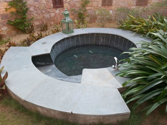 Tree of Life Resort & Spa Jaipur : outdoor bath tub
