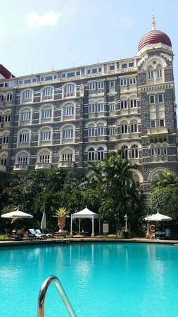The Taj Mahal Palace: An oasis away from the traffic.
