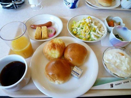 Shin-Osaka Sunny Stone Hotel: 朝食バイキング 予約購入800円