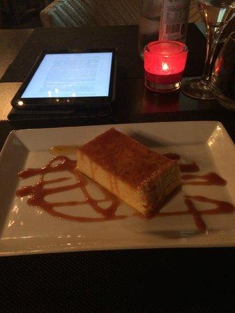 Restaurant Don Quichotte : Flan aux oeufs